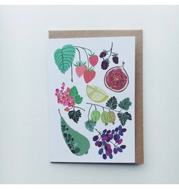 Fruit Fields Greeting Card