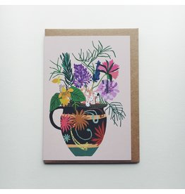 Gardeners Vase Greeting Card