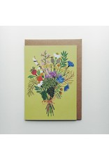 Wild Posy Greeting Card