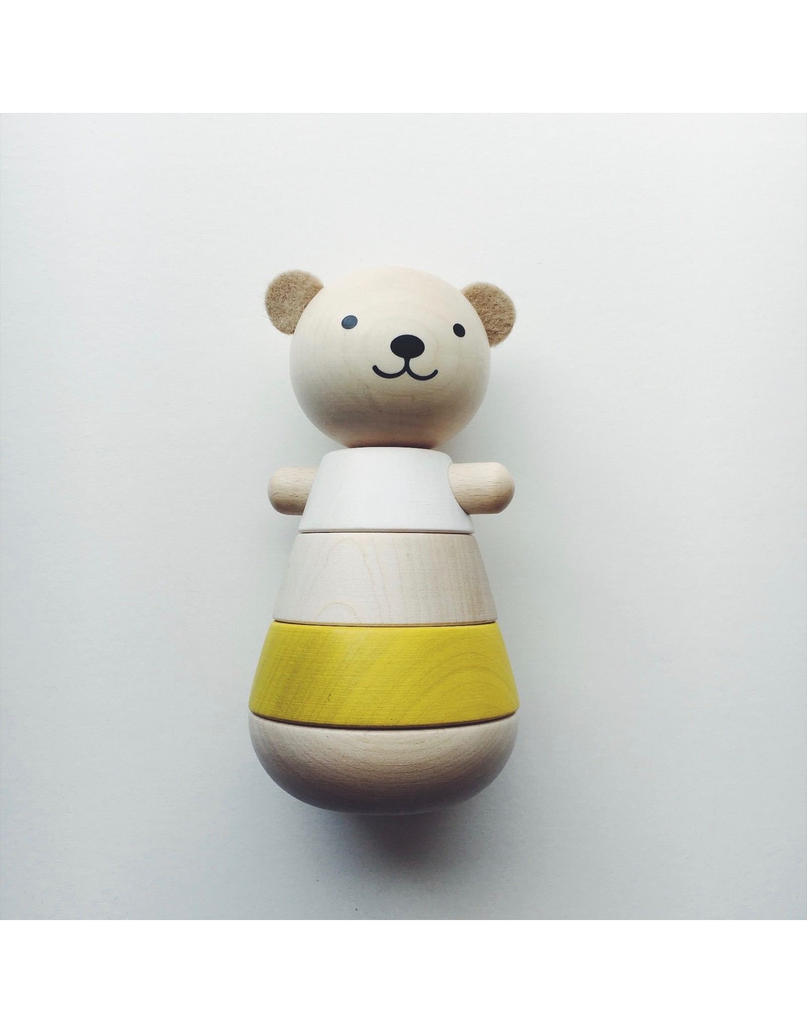 Wooden Stacking Bear Toy