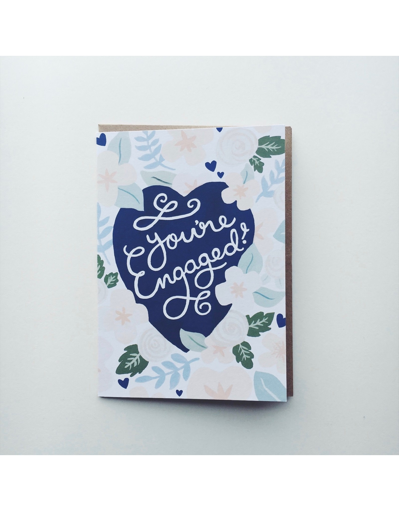 Engagement Card - You're Engaged!