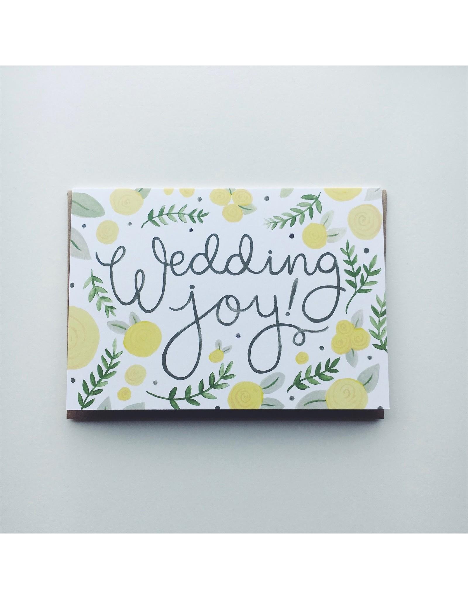 Wedding Joy! Greeting Card