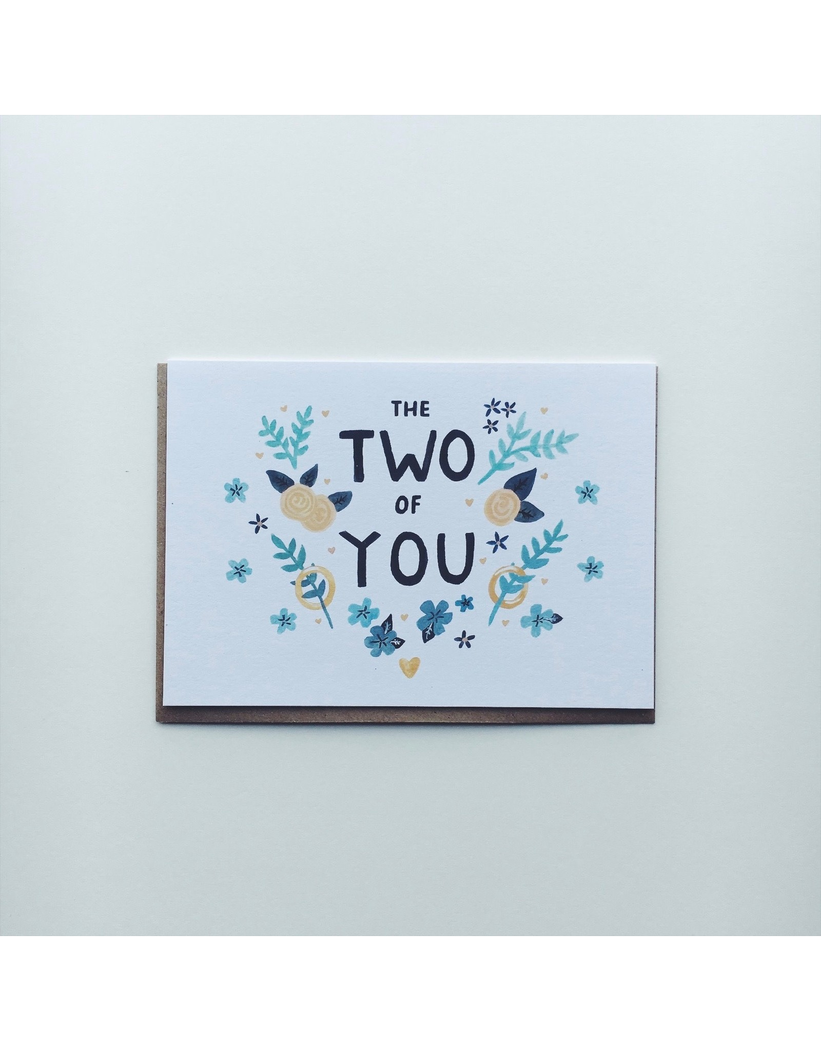 Wedding Card - The Two of You