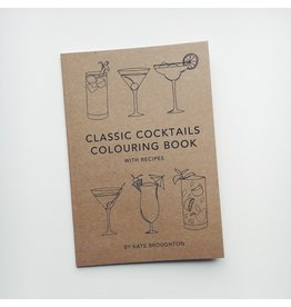 Classic Cocktails Colouring Book
