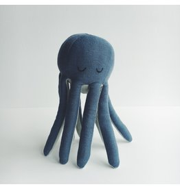 Fabelab Blue Octopus Rattle
