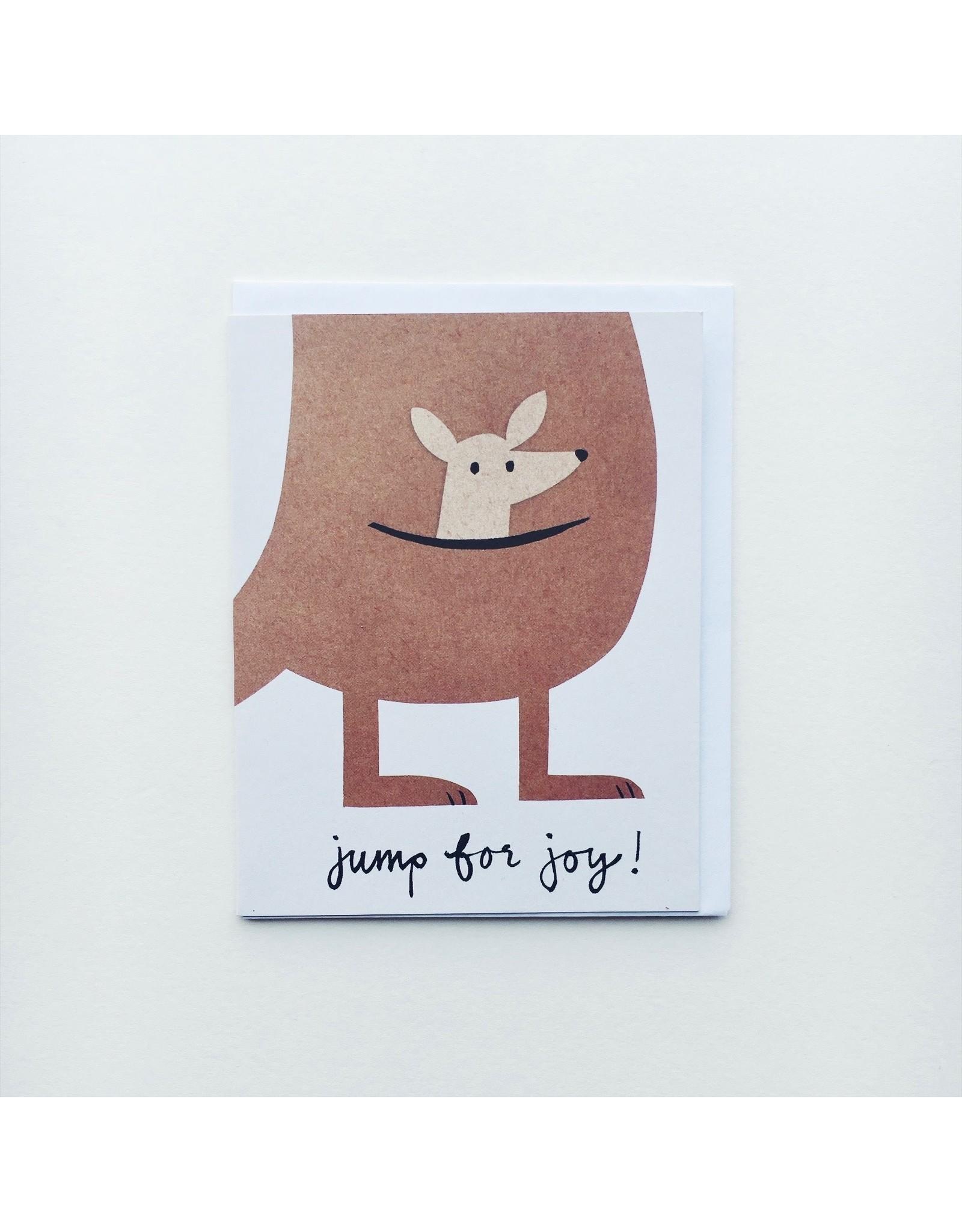 Jump for Joy New Baby Card