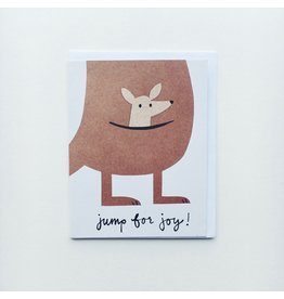 Jump for Joy New Baby Card