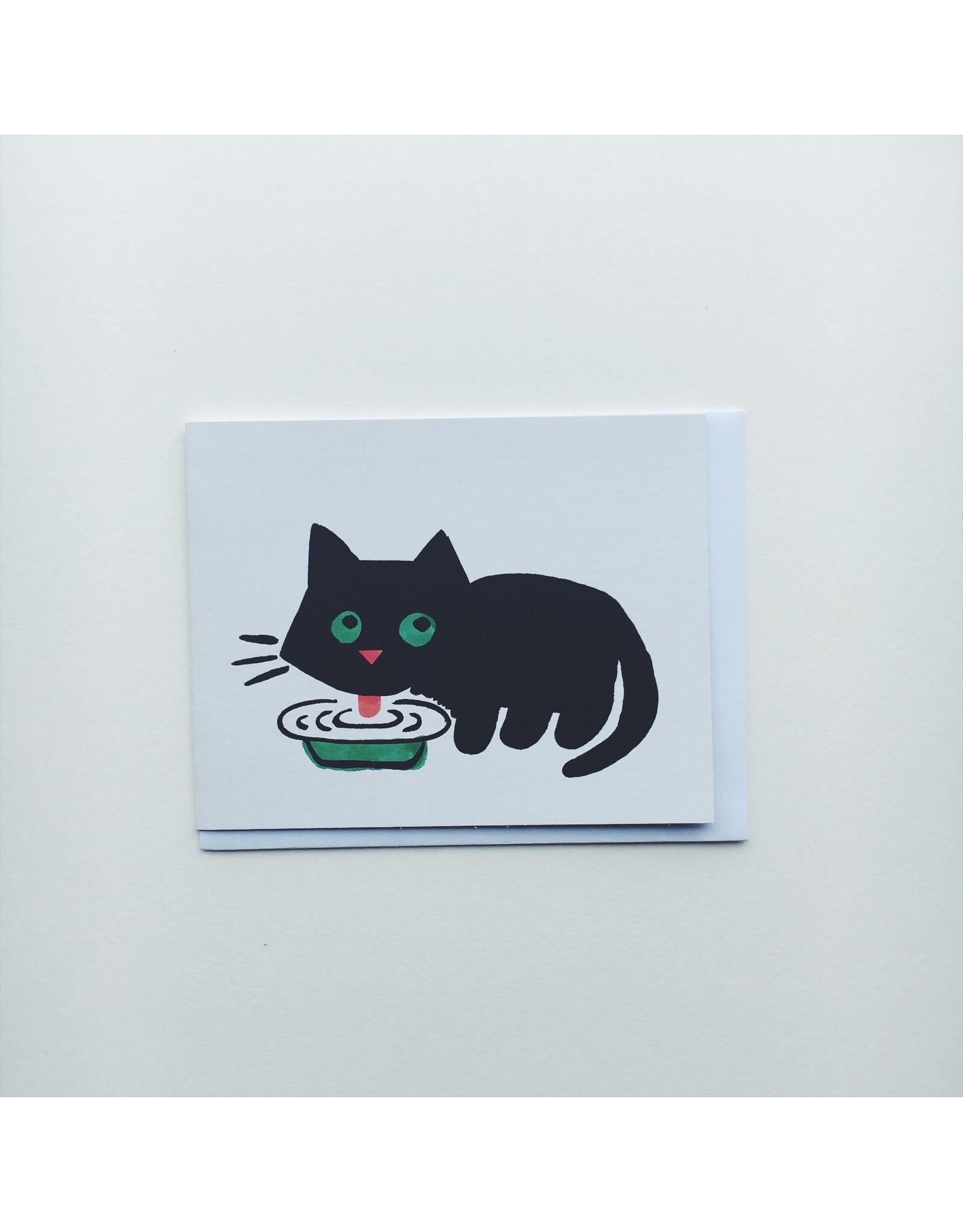 Maria Cat Greeting Card