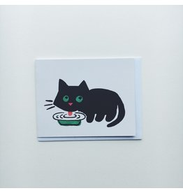 Maria Cat Greeting Card