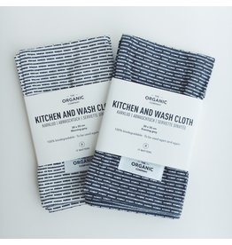 Organic Kitchen and Wash Cloth