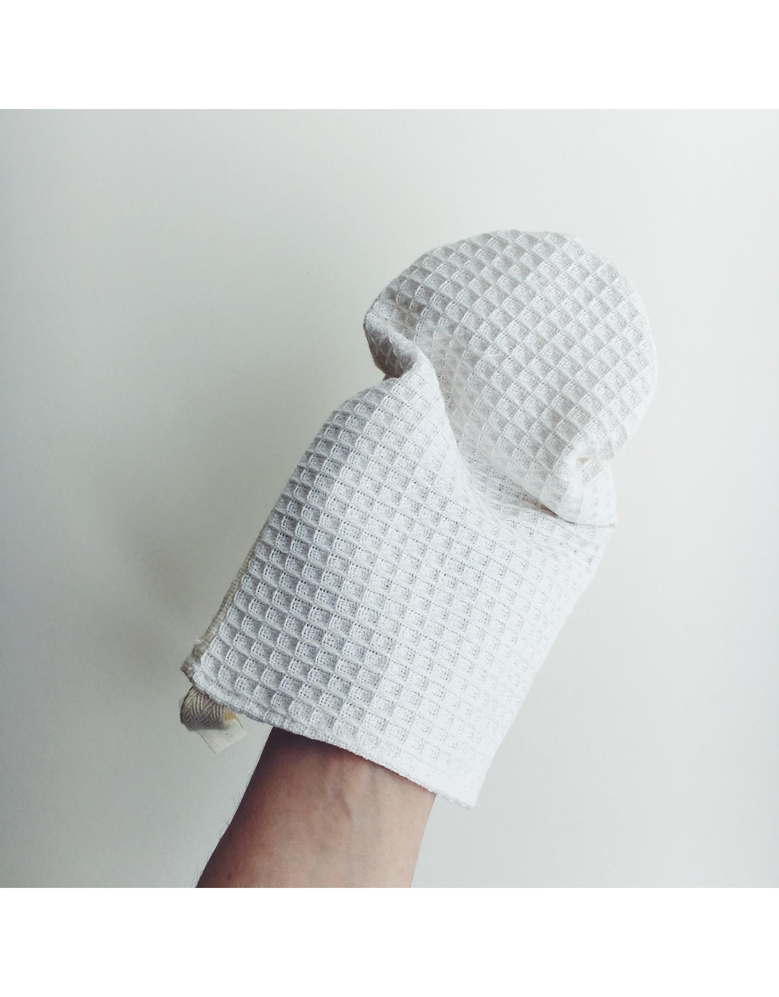 Cotton Shower Mitt