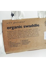 Organic Cotton Star Print Muslin Swaddle