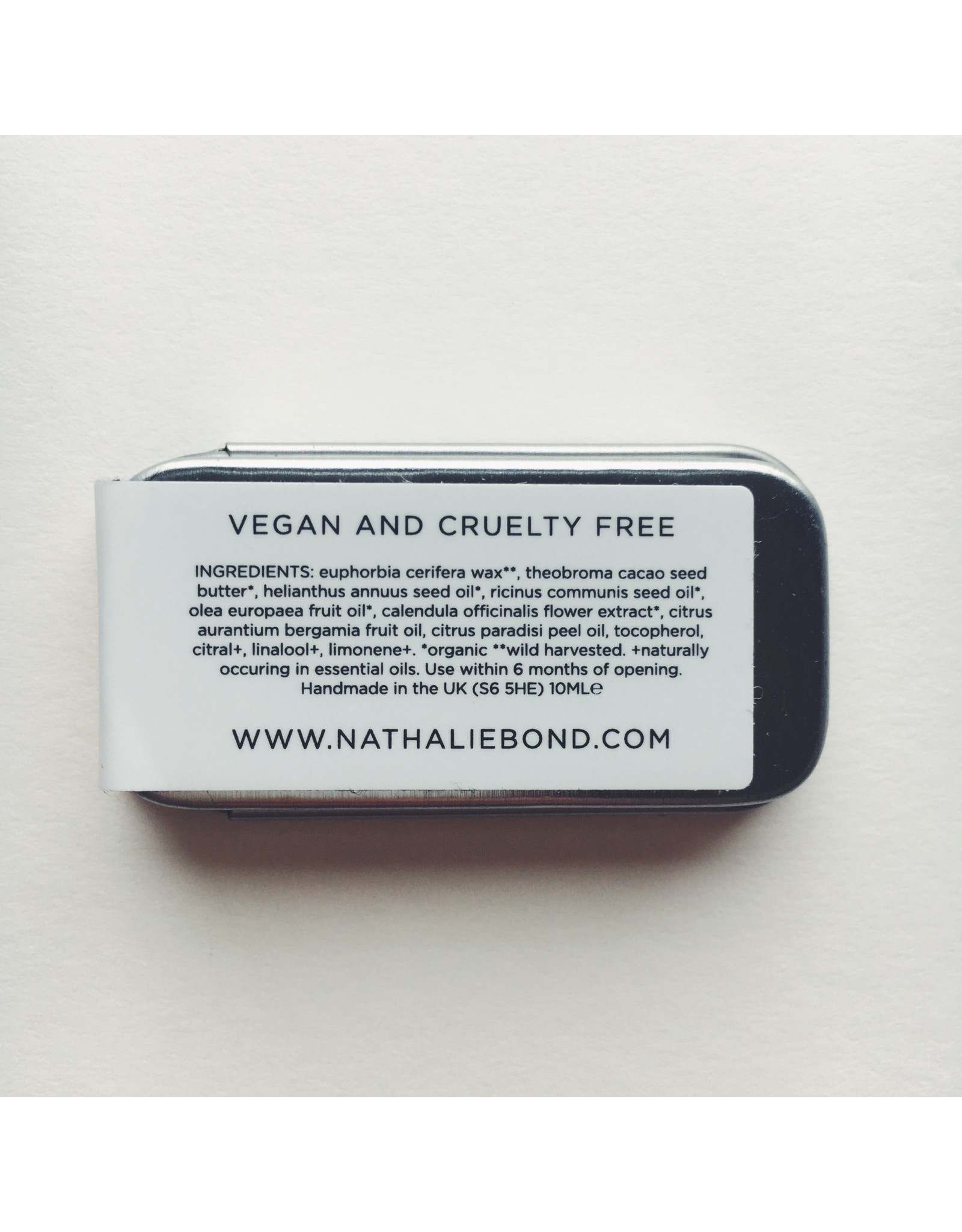 Organic Vegan Lip Balm