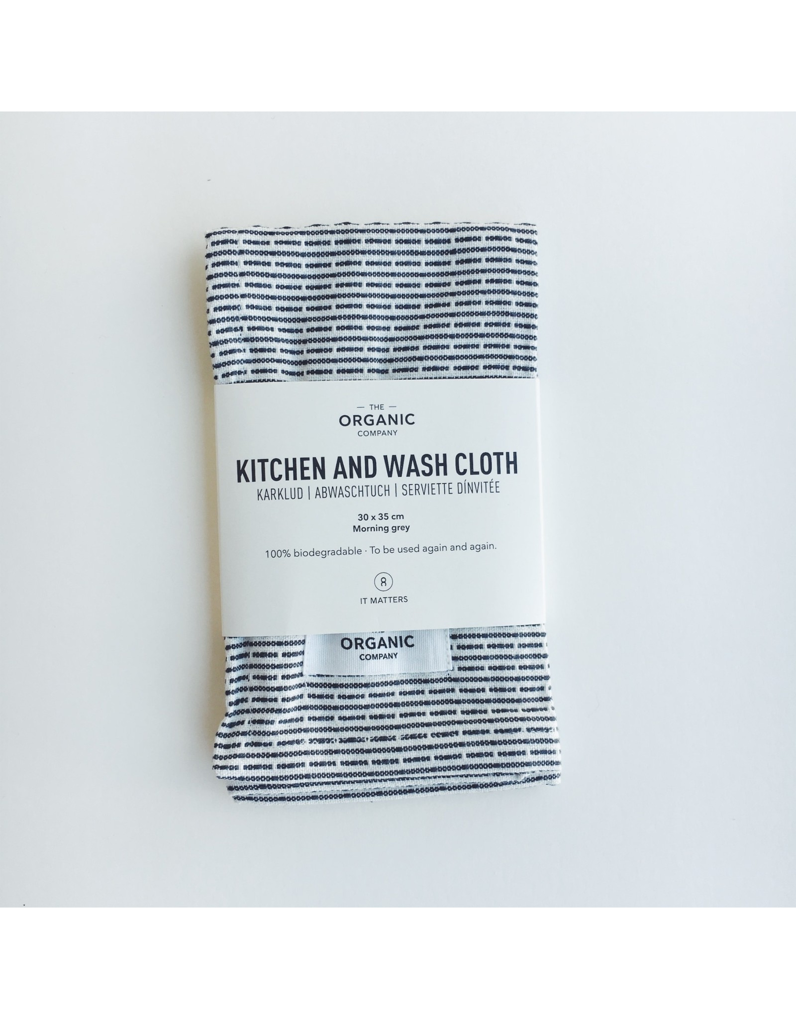 Organic Kitchen and Wash Cloth