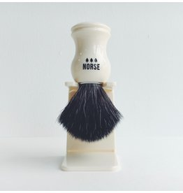 Recycled Plastic Shaving Brush & Stand