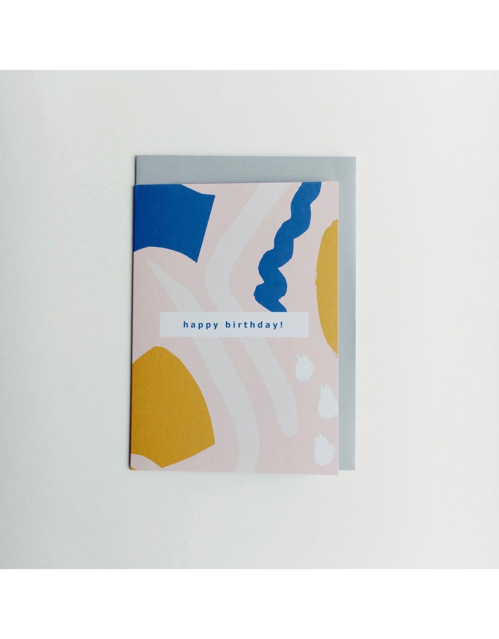 Birthday Flourish Card B30