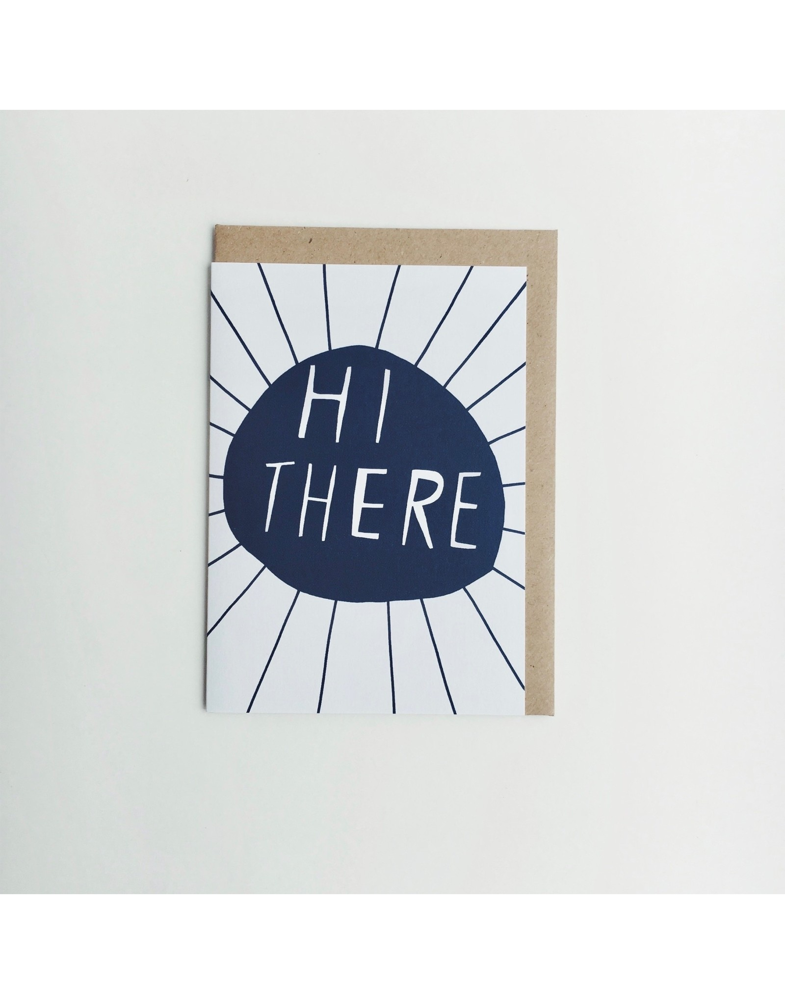 Hi There Greeting Card PH2
