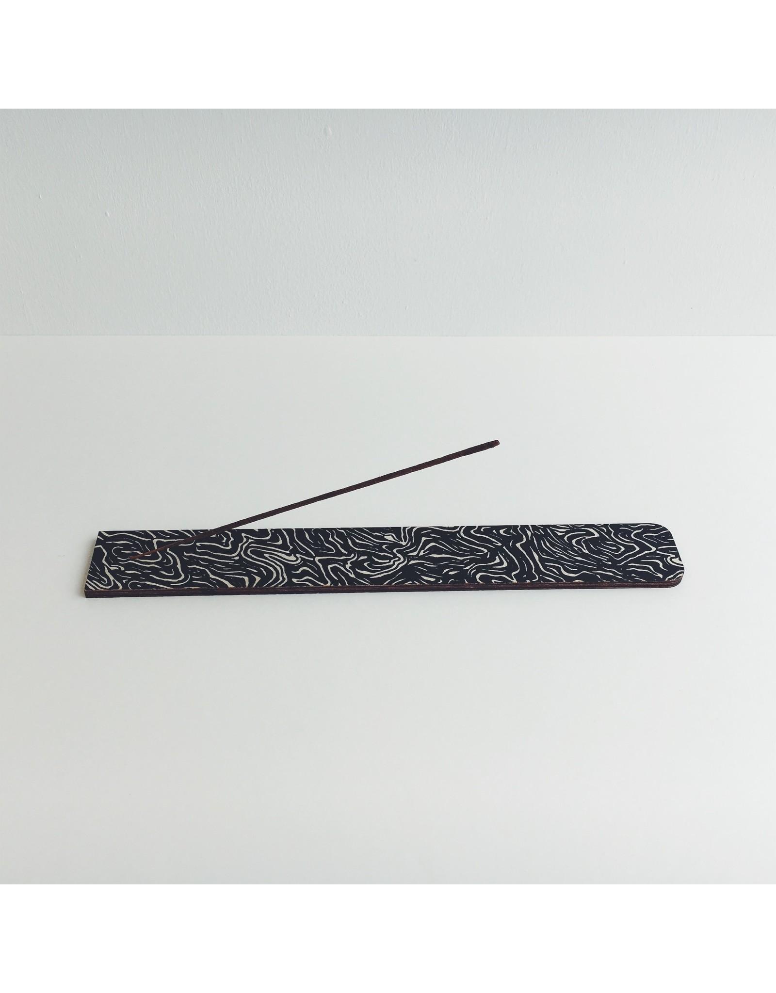Monochrome Incense Holder