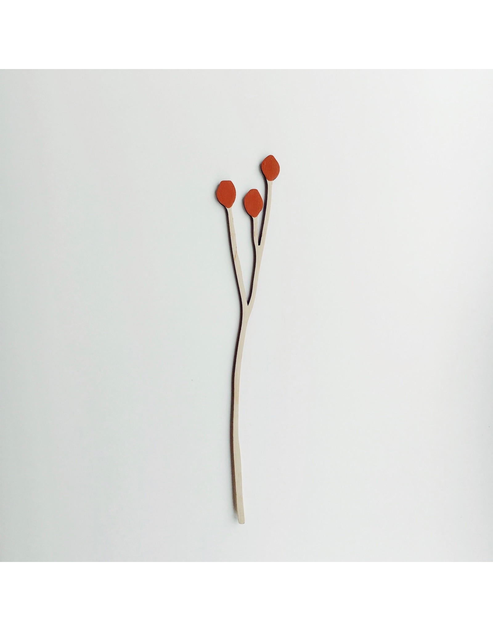 Wooden Berry Stem