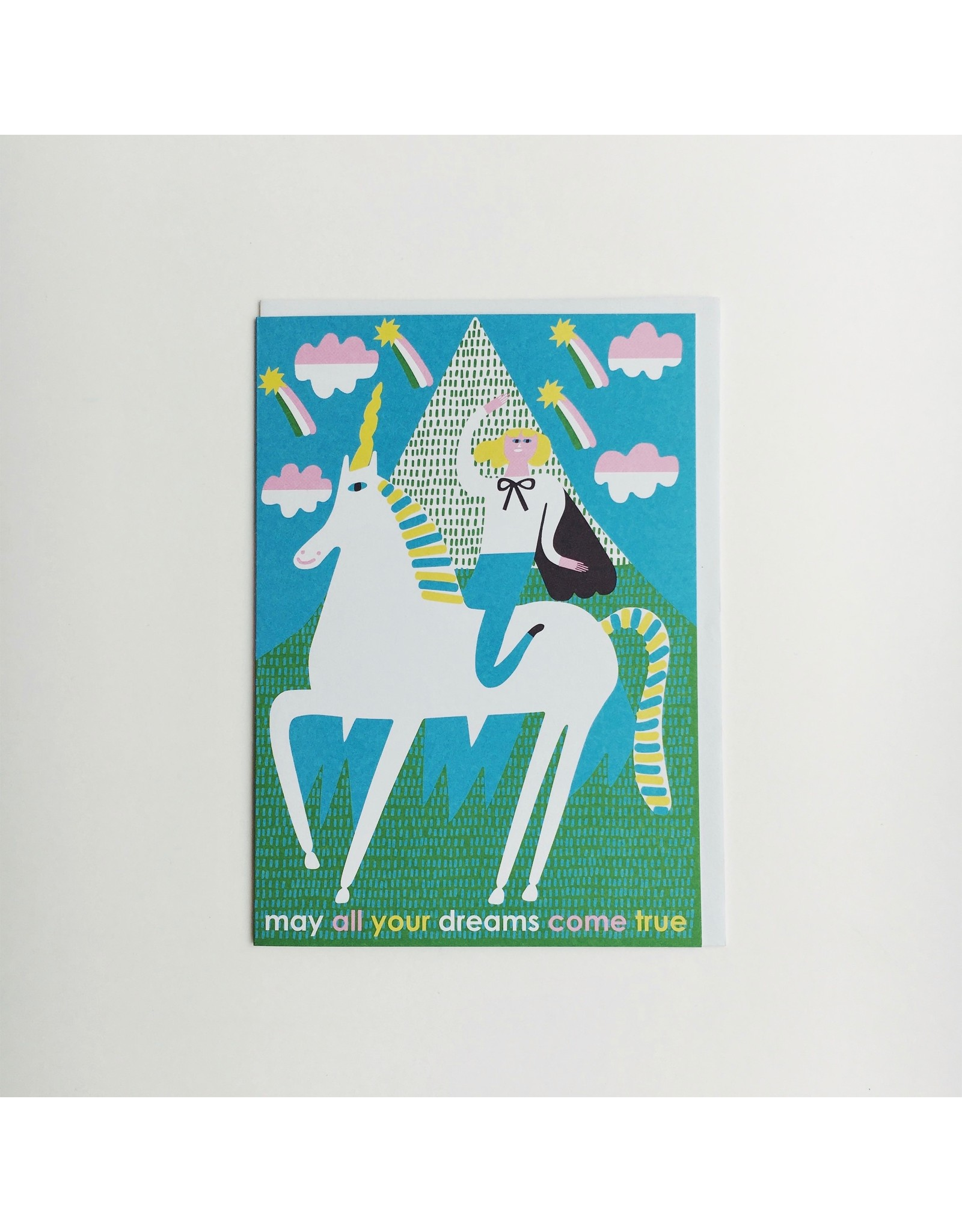 May All Your Dreams Come True Greeting Card