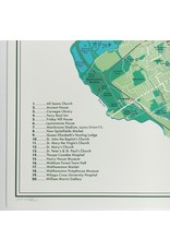 Waltham Forest Map Print