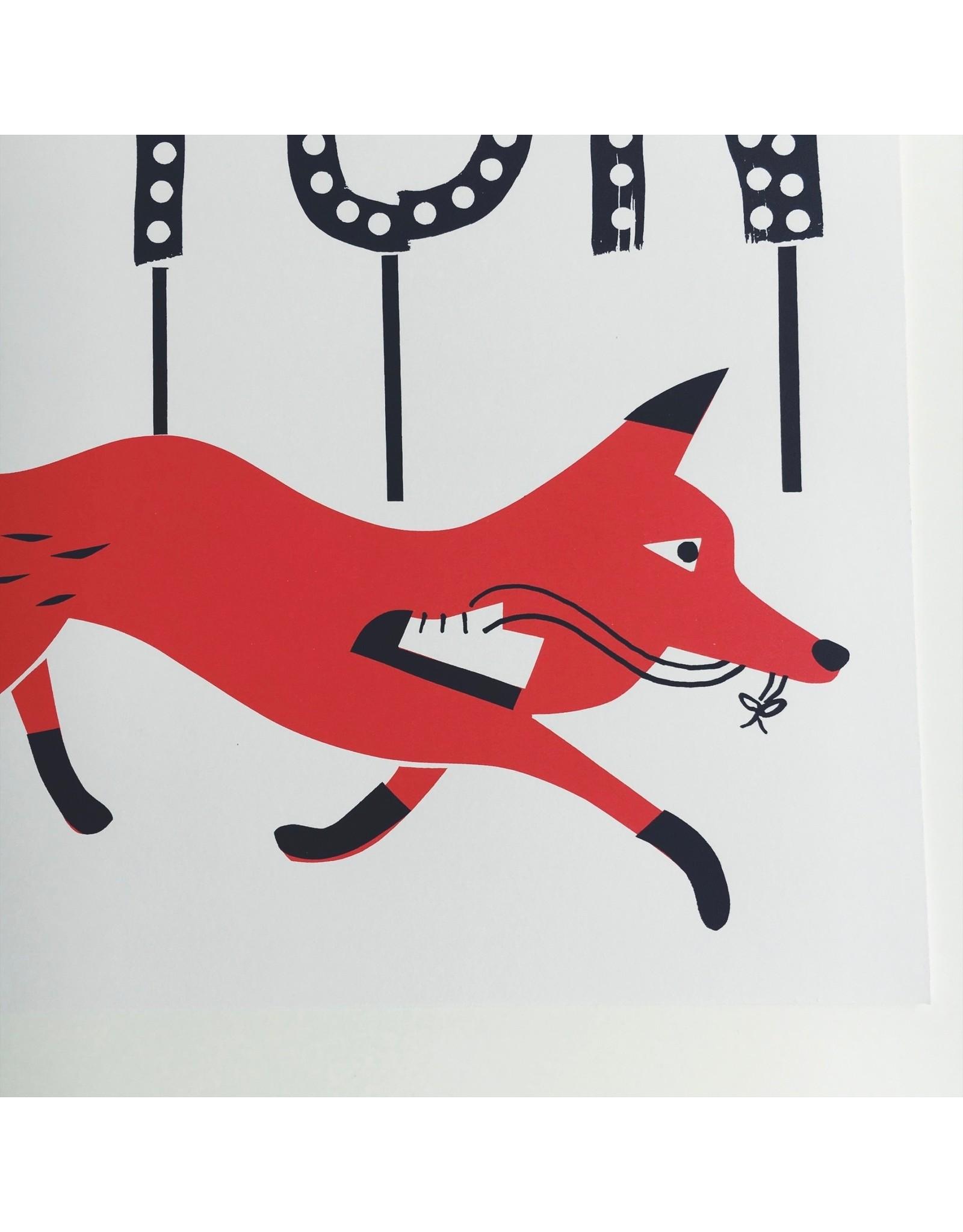 Leyton Fox Screenprint