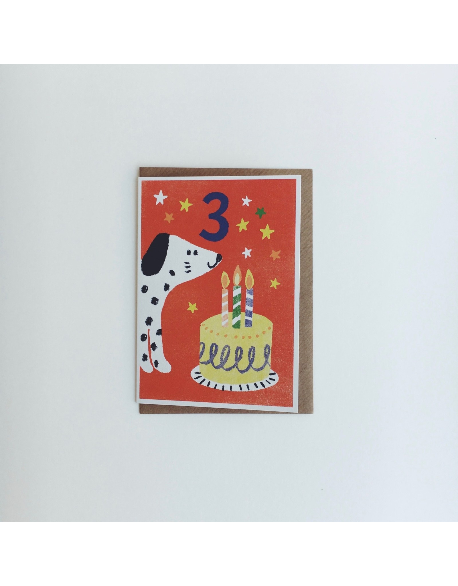3rd Birthday Dog Card