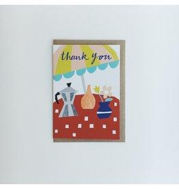 Café Thank You Card