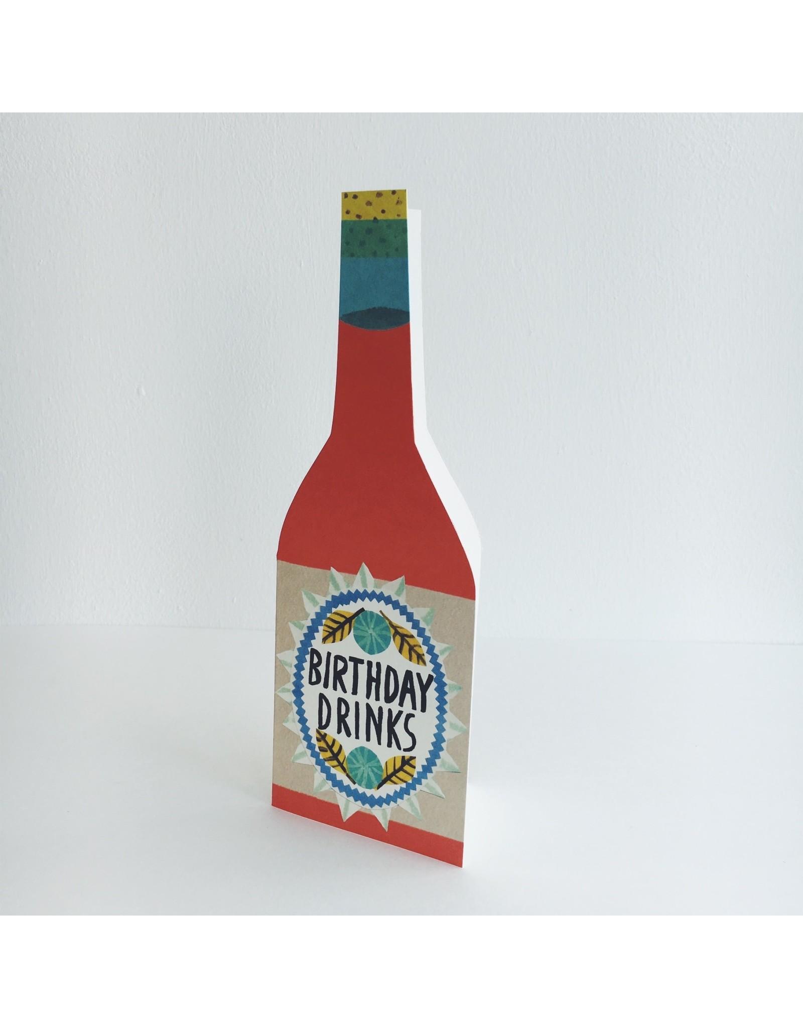Birthday Drinks Card