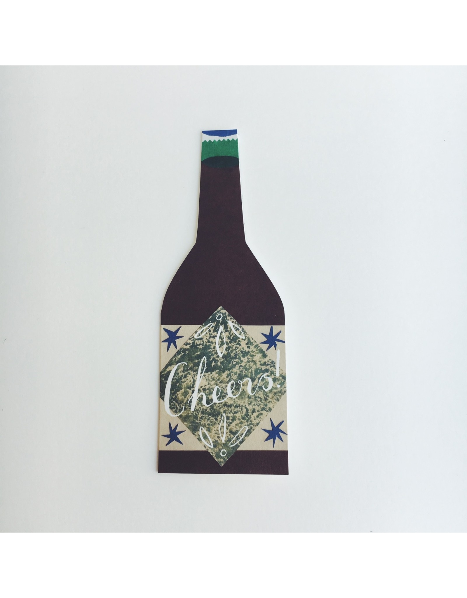 Cheers Bottle Card