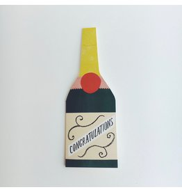 Congratulations Bottle Card