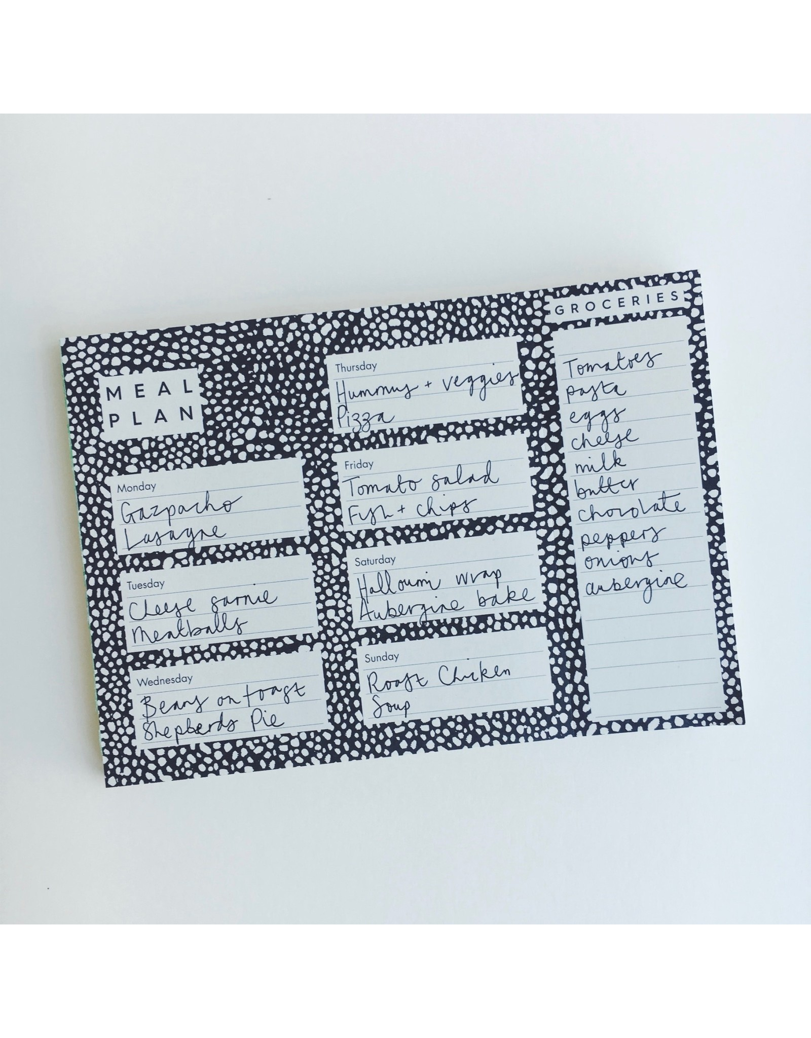 Meal Planner Pad