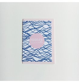 Waves Hooray Greeting Card
