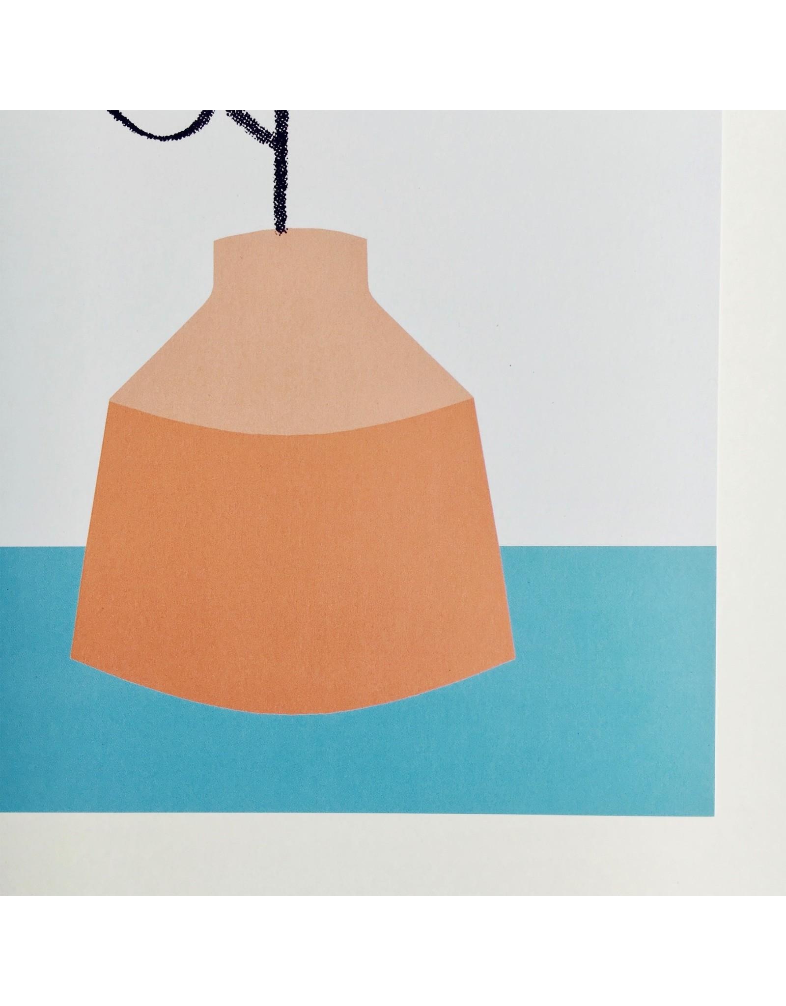Orange Vase A4 Print