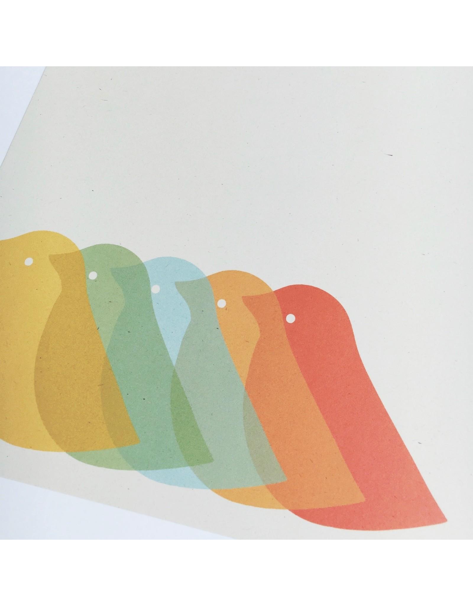 Birdie A4 Digital Print
