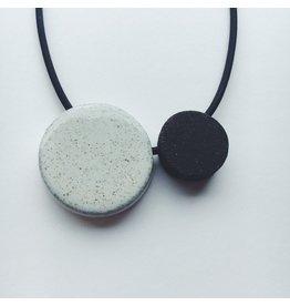 Circle Ceramic Necklace