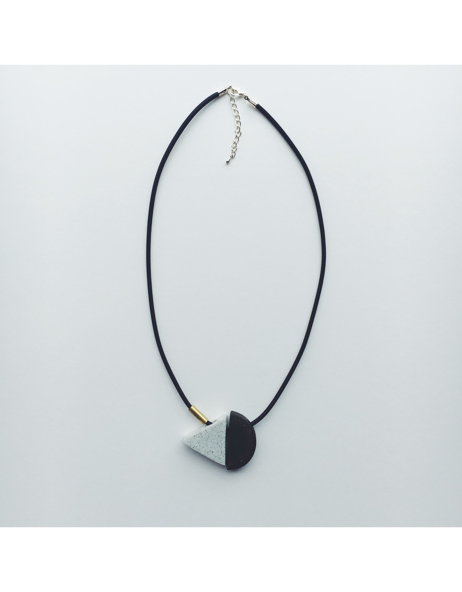 Triangle Ceramic Necklace
