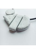 Geometric Ceramic Necklace