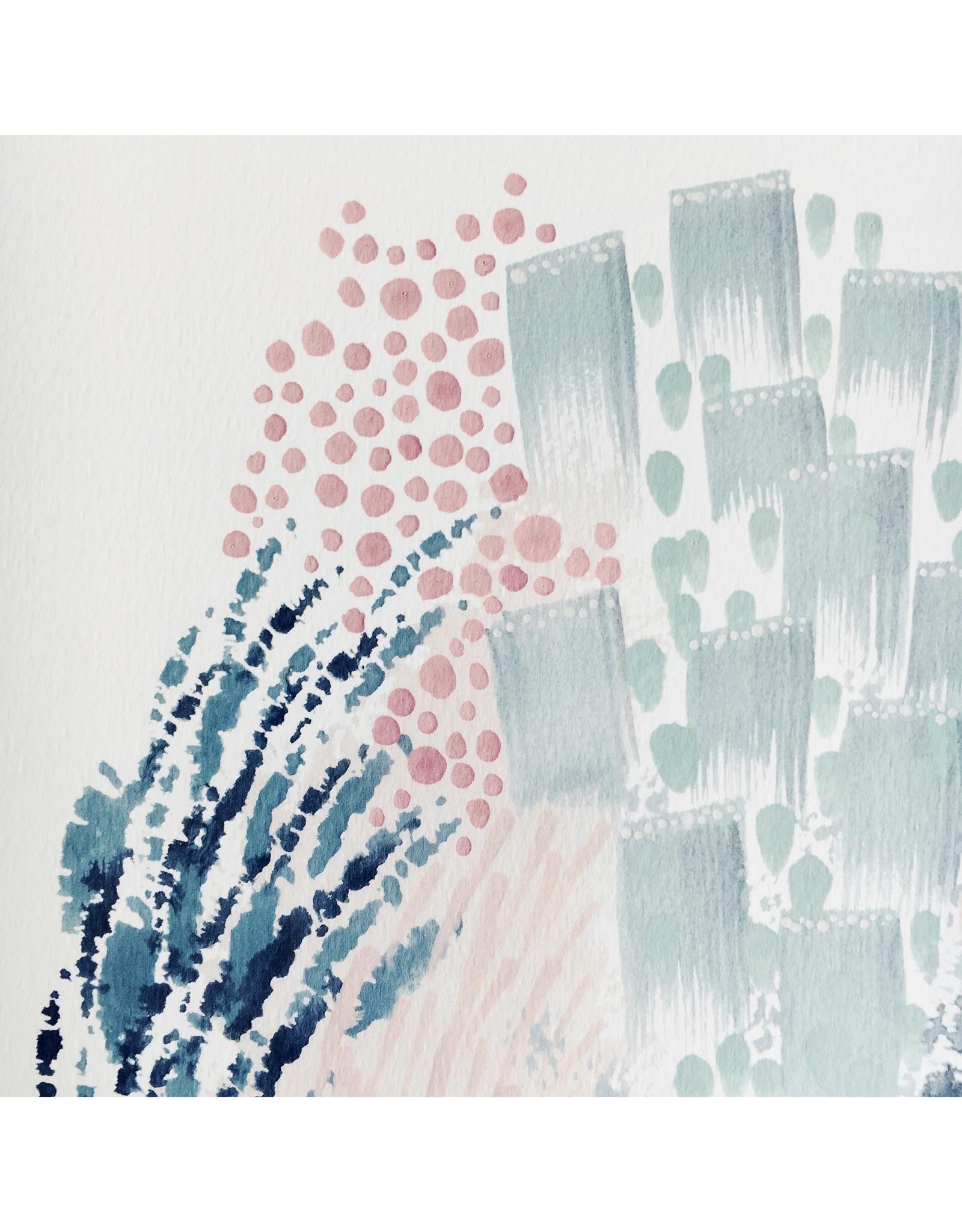 Lilou Abstract Print