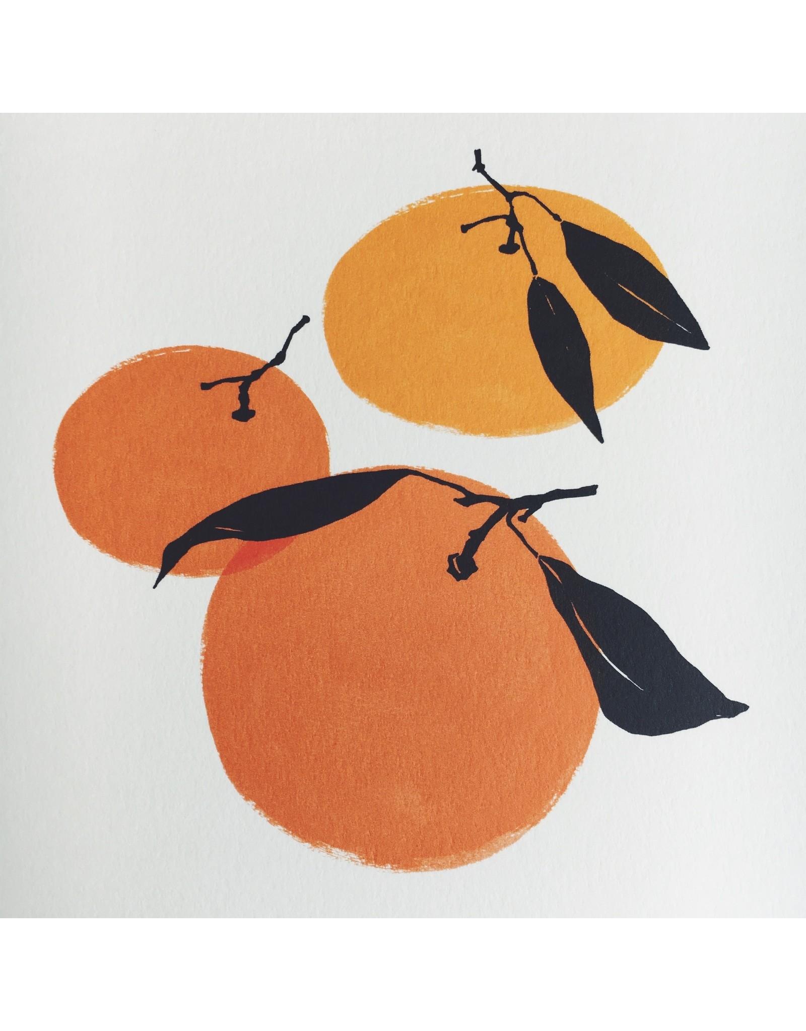 Tangerines A4 Print