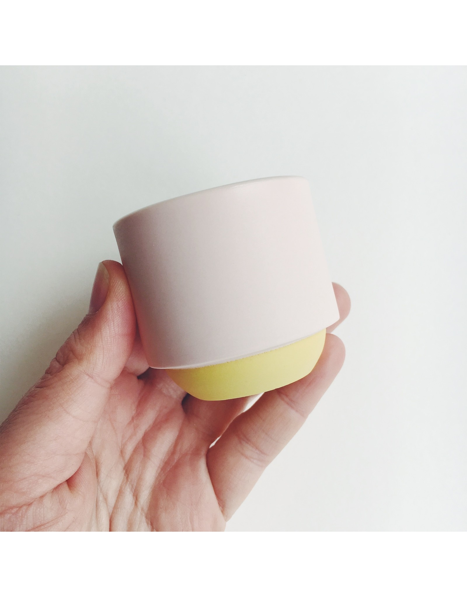 Small Porcelain Stacking Pot
