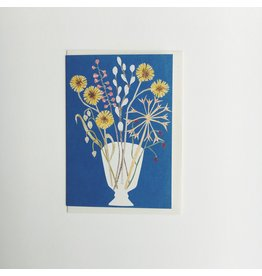 Glass Vase Greeting Card