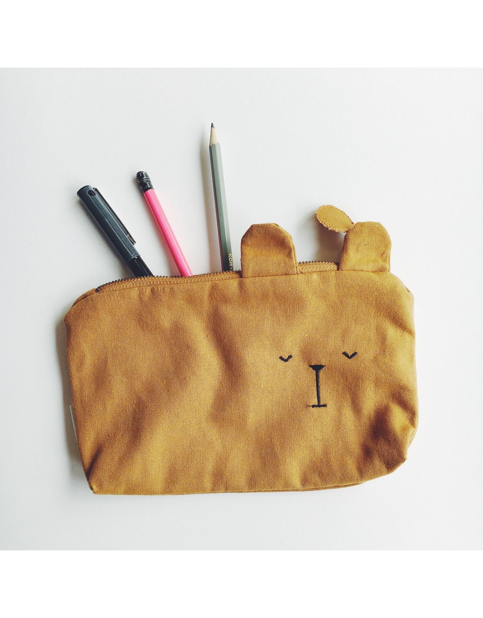 Ochre Bear Pencil Case