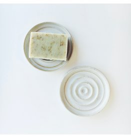 Stoneware Circle Soap Dish