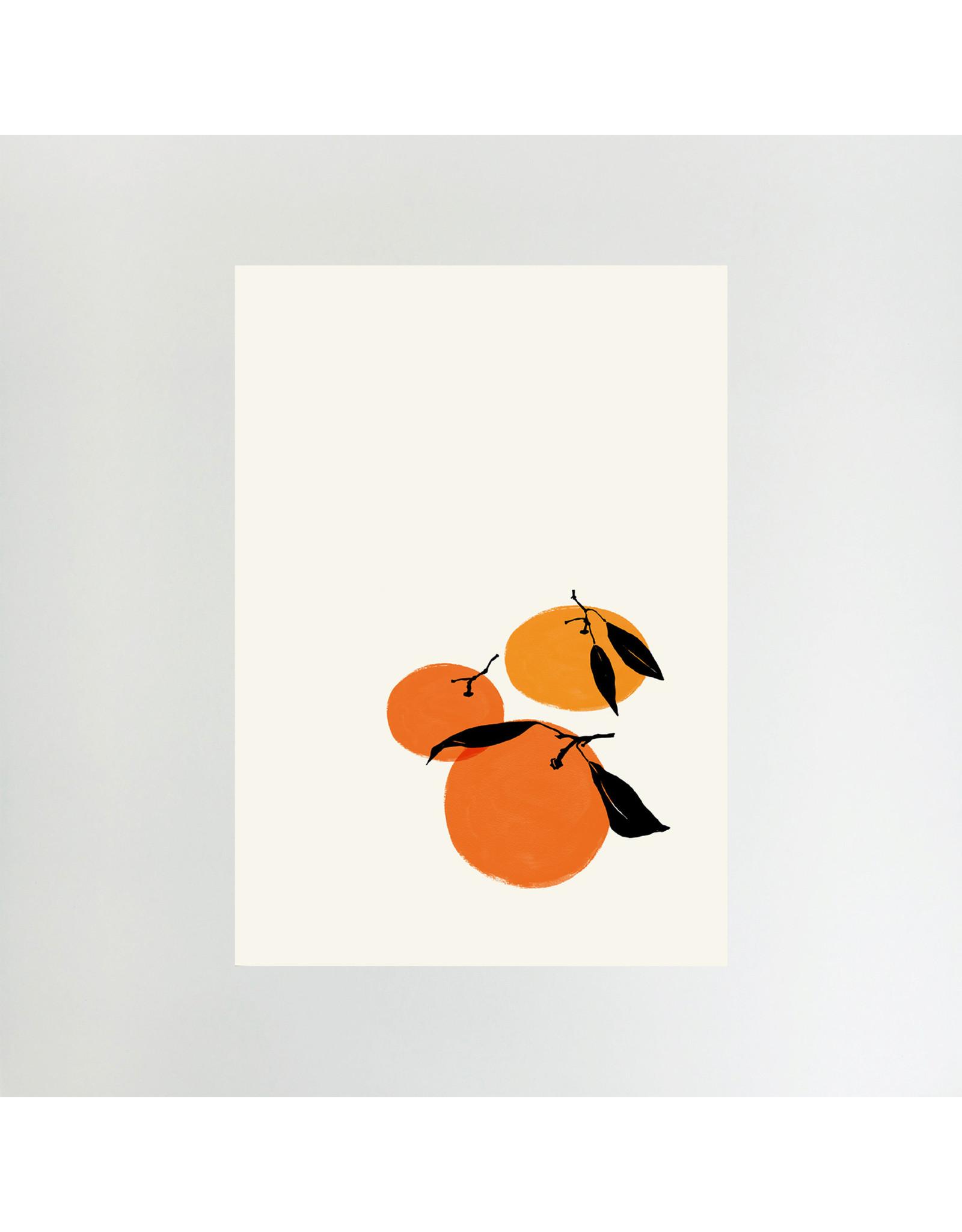 Tangerines Print