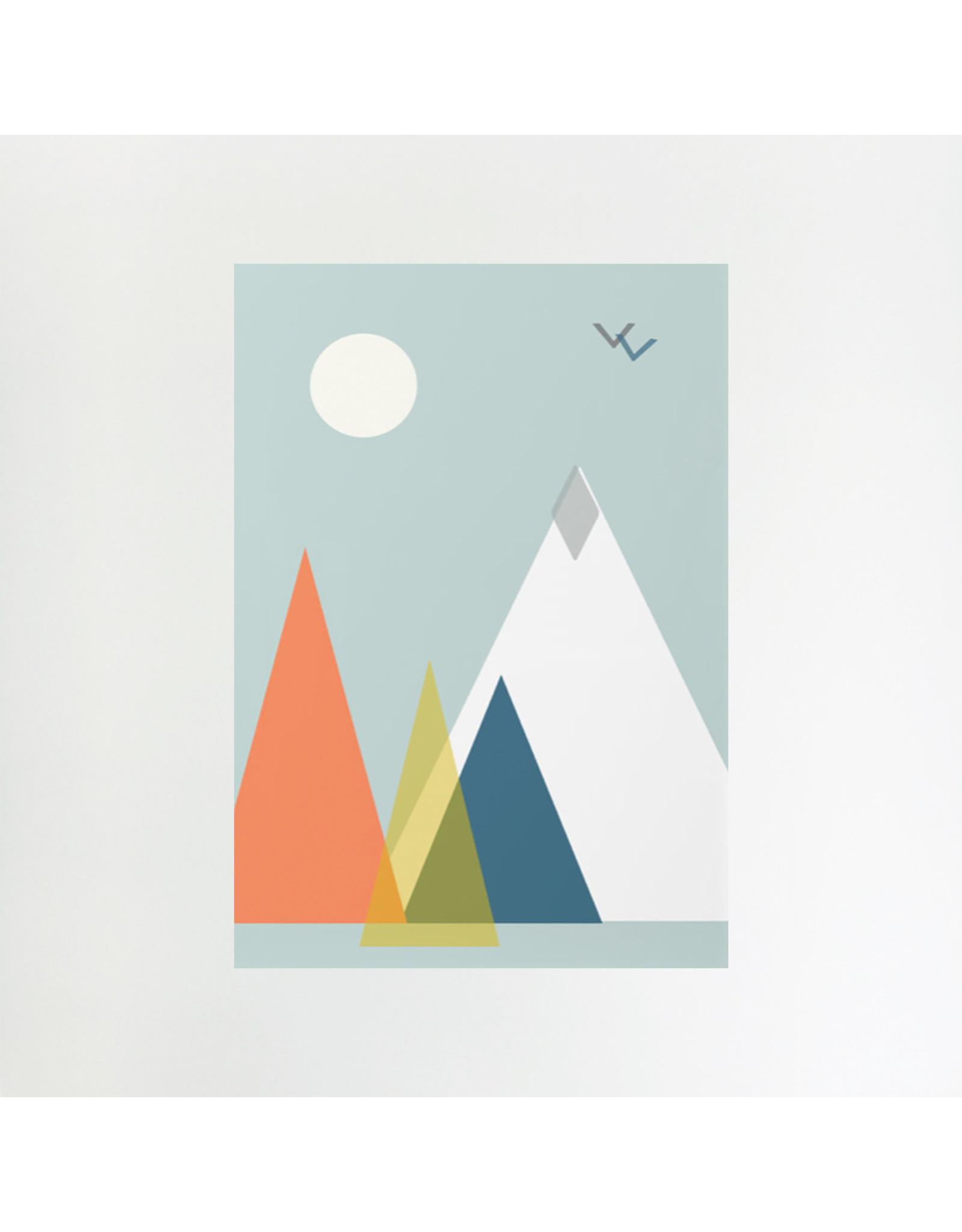 Mountains A3 Print