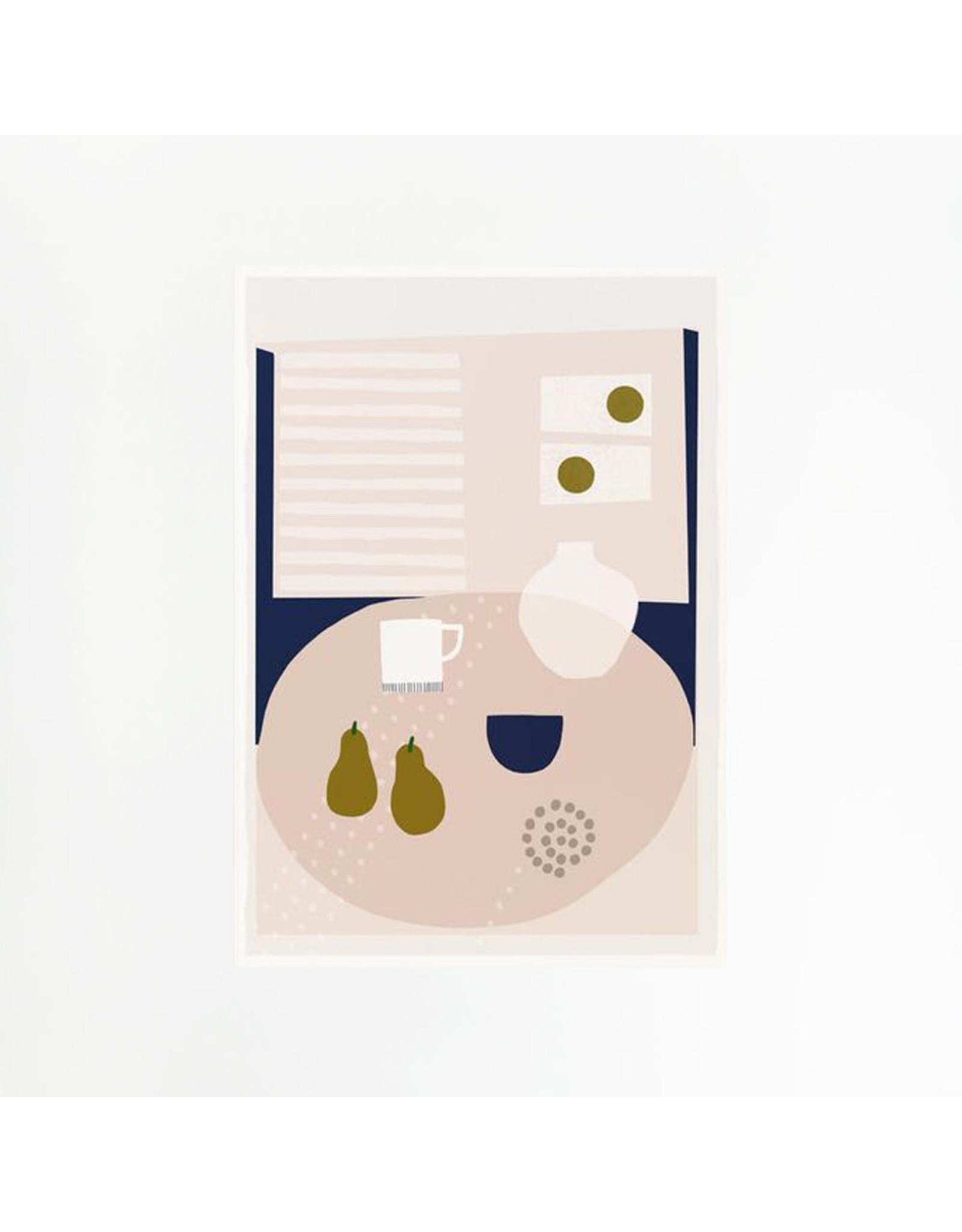 Kettles Yard Pears A4 Print