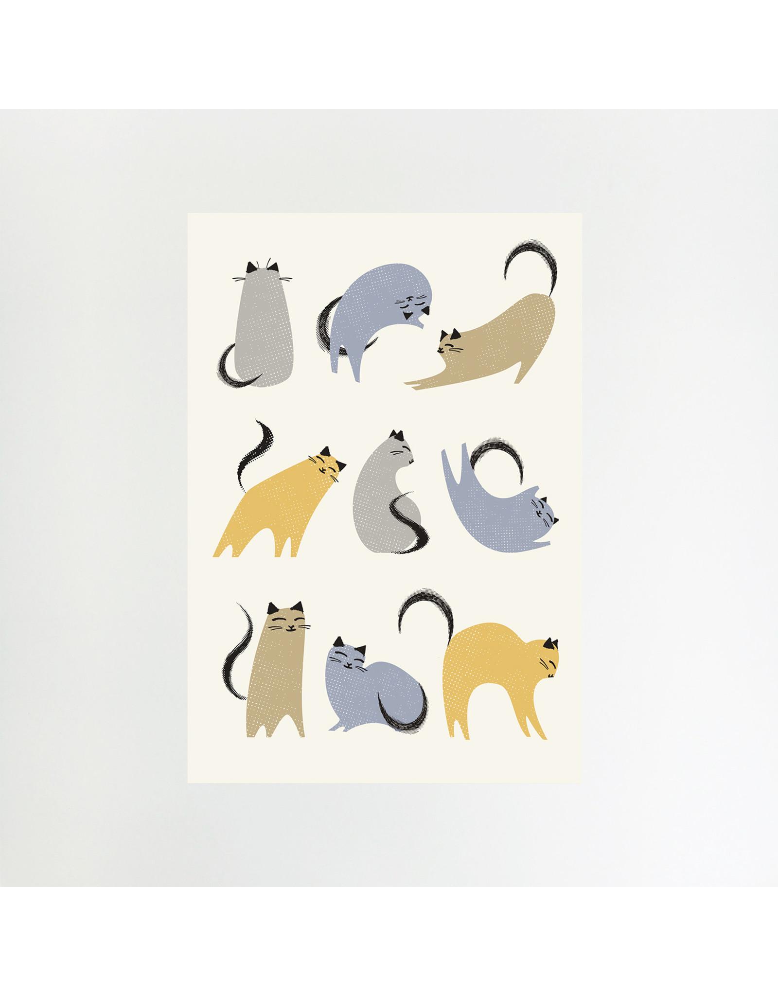 Cat Moves Print