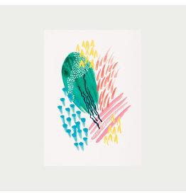 Iris Abstract A4 Print