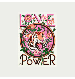 Love Is Power A3 Print